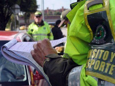 Mas policias de transito para garantizar seguridad vial en Cundinamarca