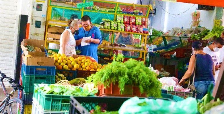 Campesinos comercializaran mercados por internet