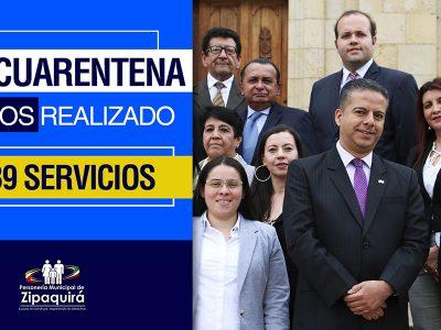 En epoca de cuarentena la Personeria de Zipaquira continua garantizando los derechos humanos 1