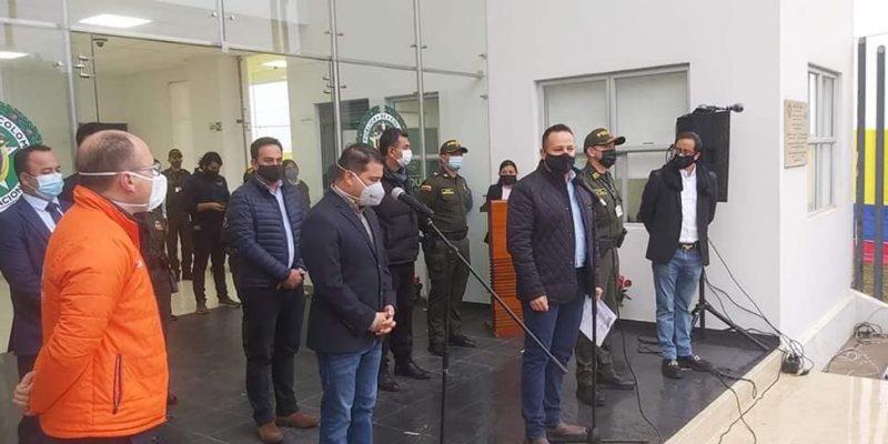 Inaugurada la Subestacion de Policia del Barrio San Juanito en Zipaquira1