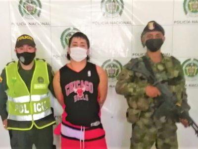 Tras las rejas uno de los delincuentes mas buscados de Cundinamarca