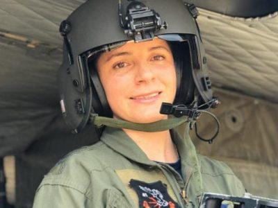 Un zipaquirena es primera mujer Tecnico en Equipos de Rescate y de Vuelo de la FAC