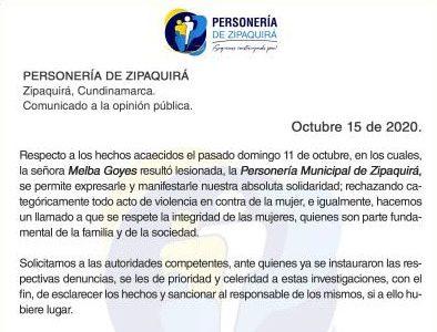 Personeria rechaza hechos de violencia contra mujeres y pide celeridad en investigaciones 2