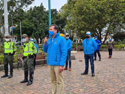 Promotores de cultura para la seguridad vial en Cajica