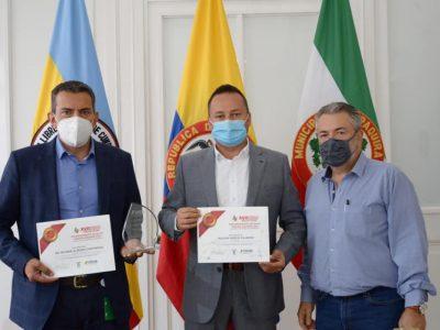 Zipaquira recibe el Premio Nacional de Salud Publica 1