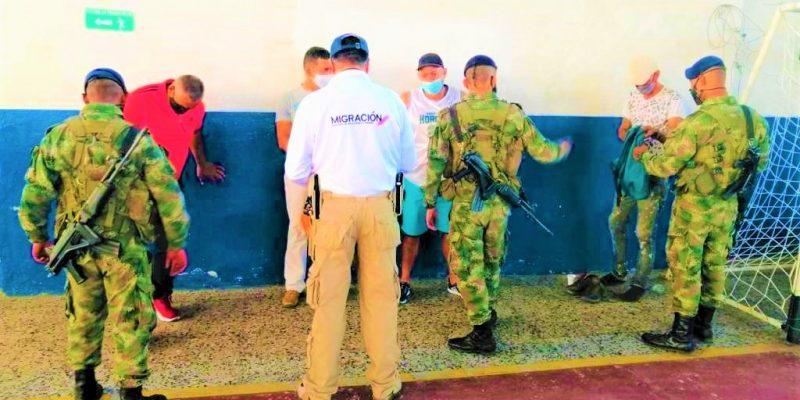 Deportaciones de ciudadanos extranjeros en el municipio de La Mesa