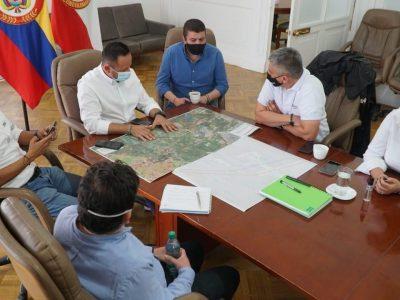 Audios Iniciaran las obras que acabaran con los trancones del sector La Paz Zipaquira