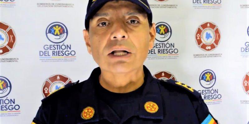 Bomberos Cundinamarca adelantan campanas de autocuidado contra la pandemia