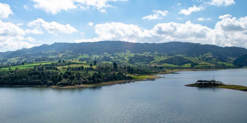 Descenso en el nivel del agua en embalses de Cundinamarca