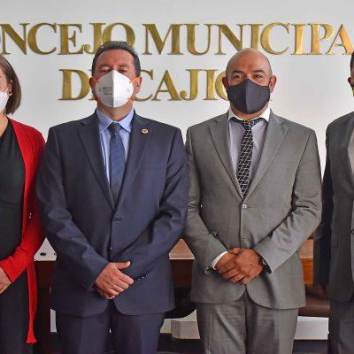 Posesionada Nueva Mesa Directiva del Concejo de Cajica2 2