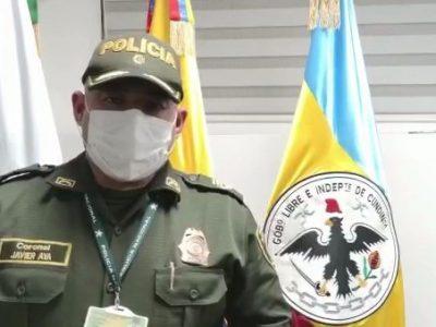 Vigilancia y control por parte de la Policia Cundinamarca durante este fin de semana