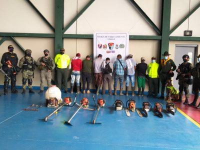 Gran operativo contra la deforestacion en Chiribiquete