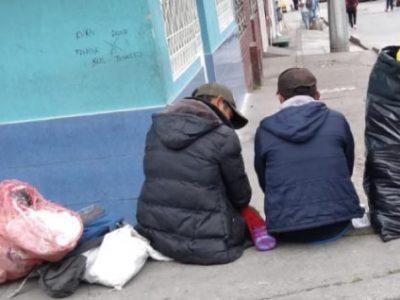 Habitantes de calle dentro del plan de vacunacion contra el covid 19
