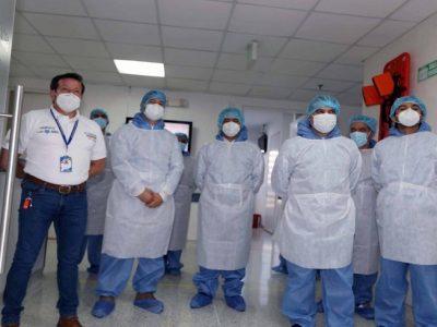 Personal Medico de Zipaquira y otros municipios de Cundinamarca seran inmunizados en la primera dosis de vacunacion contra el covid 19