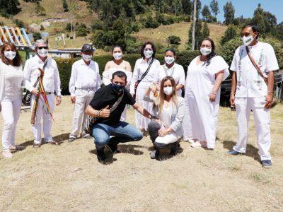 Posesionado el Nuevo Cabildo del Resguardo Indigena de Chia